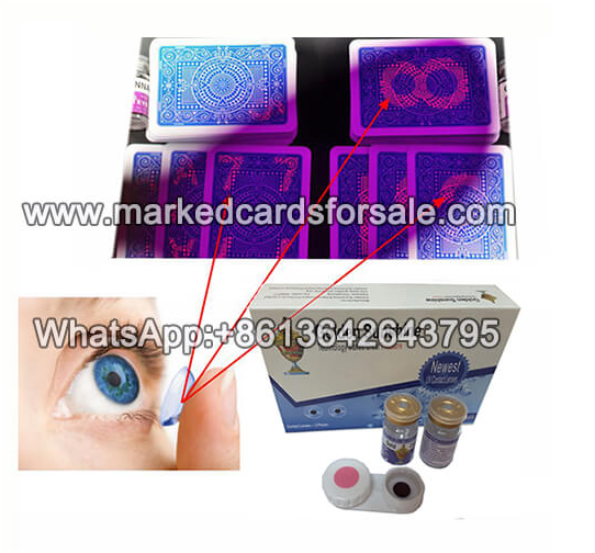 marked cards contact lenses for sale