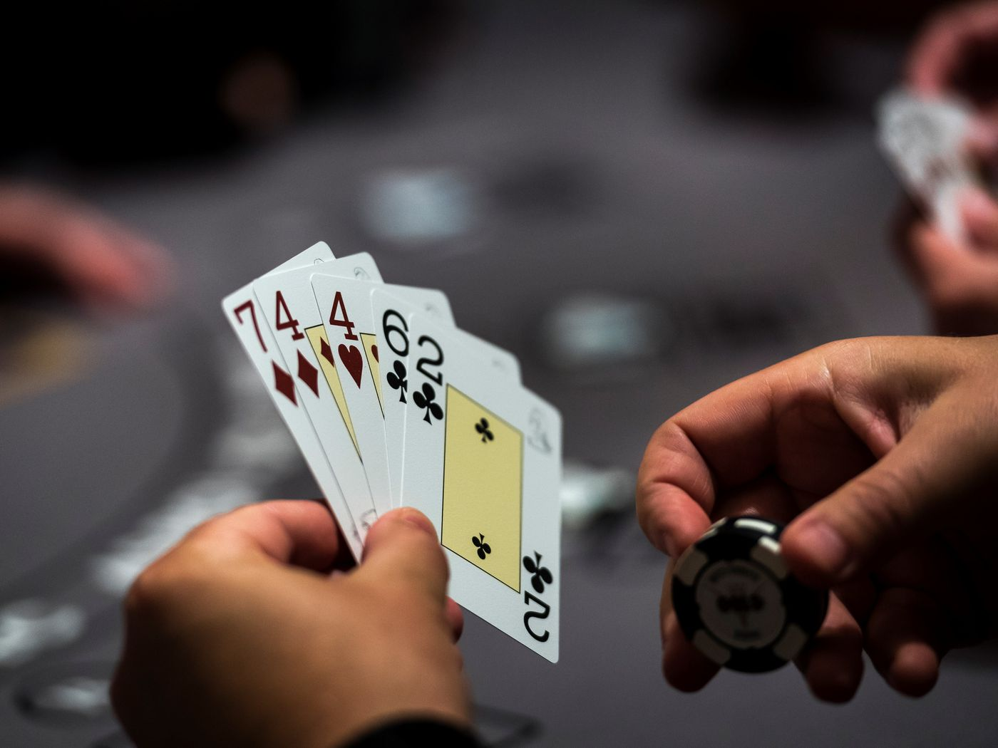 poker games at casino